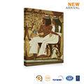 Pintura al óleo de la lona figura pareja desnuda africana