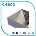 Chisco 201/304 laminado en frío de aceroinoxidable cepillado de la hoja