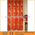fantástico cortina bordada