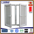 buena calidad de aluminio de la ventana de celosía fabricante