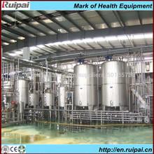 leche y productos lácteos de leche de la línea de procesamiento