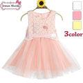 caliente venta de moda bebé niña vestido de fiesta de niños vestidos de diseños en stock