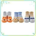 la costumbre de los animales de tacto suave de lujo baratos baby calcetines de ventas al por mayor