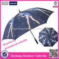 De alta calidad de fibra de vidrio auto paraguas de golf, sexo niña hermosa paraguas imágenes
