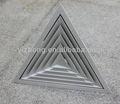 triángulo de difusor de techo