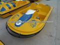 Fibra de vidrio CE precio barato barca de pedales en venta hidropedal