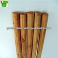mango de madera barnizada para la limpieza del suelo escoba