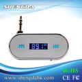 3.5mm transmisor fm inalámbrico de radio adaptador para el iphone samsung 5/4s el teléfono de htc fi-316