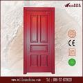 puerta de madera interior diseña precio barato para la venta