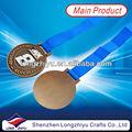 material de metal banhado a ouro formato quadrado clássico estilo 3d medalha
