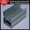 zhongji perfil de aluminio de extrusión de aluminio perfil de fábrica