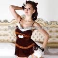 la danza 2013 caliente chica sexy cosplay uniforme de navidad