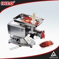 Comercial restaurante pequeño de la carne de corte de la máquina para moler carne