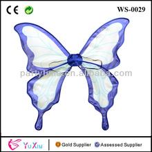 vestido de arriba de la mariposa princesa alas de hadas traje de los niños de punto de halloween