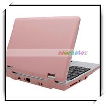 Via8850 1.5 ghz 1g+4g android 4.1 chino 7 pulgadas mini ordenador portátil del cuaderno nos estándar de color rosa