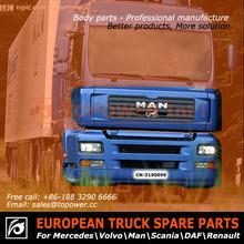 partes de carrocería para camiones man