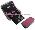 23pcs Mini rosa linda chica portátil promoción herramienta de mano conjunto de herramientas