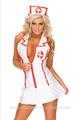 sexy vestido de enfermera juego de roles