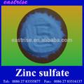 sulfato de zinco