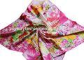 tela cruzada de moda cuadrados 100 pañuelo de seda pura