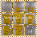 Botella de vidrio de los fabricantes, botella de vidrio para la invitación, 500ml botella de vidrio