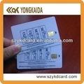 exquisito confiable at88sc tarjeta inteligente de contacto con muestras gratuitas