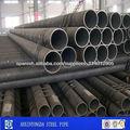 tubería de acero al carbono precio por tonelada/Negro Pipe Manufacturers