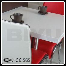 factoty china de piedra artificial del cuarzo mármol mesa de comedor precio