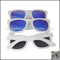 o melhor presente da lembrança de madeira artesanato elegante de bambu branco de madeira óculos de sol polaroid