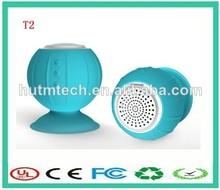 buen sonido de silicio de hongos mini bluetooth altavoces a prueba de agua de la fábrica