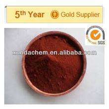 alibaba proveedor de china de color rojo óxido férrico