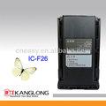 De la batería bj-2000 para icom radio de dos vías ic-f26/ic-f16/ic-f14