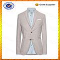 Personalizado casual de algodón pique blazer/chaquetas para hombre blazer y venta al por mayor