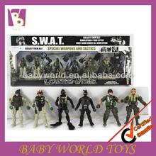 de plástico de pvc 3d militar elhombredejuguetes juguetes de colección de