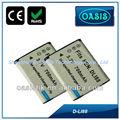 Para pentax dli88 videocámara digital de la batería d-li88 dbl80
