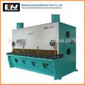Guillotina de corte de la máquina para la hoja de metal, hoja de metal de corte de la máquina