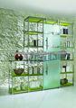 puerta de cristal de la oficina moderna deslizante / de cristal interior puerta corredera