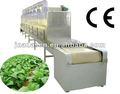 industrial microondas secadora de hierbas/stevia/morgano