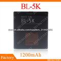 Baterias para celulares Nokia BL5K BL-5K C7 C7-00 X7 N85 N86 N 85 N 86 - 1200mAh