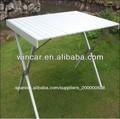 Mesa plegable de aluminio/mesa de camping por wincar