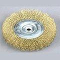 circular de alambre cepillos