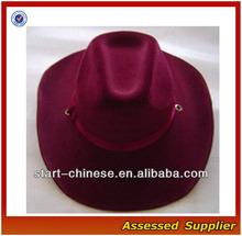 E015/ sombrero de vaquero o no- tejido de material/de promoción sombrero de vaquero