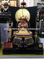 Armadura de samurai japonés& casco para el hogar decoración de la tienda