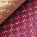 hot venda de couro sintético do plutônio para a decoração