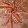 cor laranja cortina de tecido de poliéster