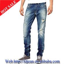 2013 toda la venta de marca italiana gris hombres jeans skinny( ldw66)