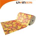 atóxico pvc antiderrapante esteira da espuma floral impressão tapete