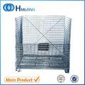 Apilable contenedor de alambre plegable utilizado para el almacenamiento