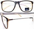Wenzhou rs13-g232 de acetato de estilo hecho a mano gafas monturas de metal con templos directa de la fábrica del fabricante