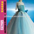 venta caliente de la princesa congelados elsa infantil de disfraces vestido de boutique